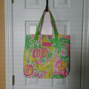 Lily Pulitzer for Estee Lauder Tote Bag